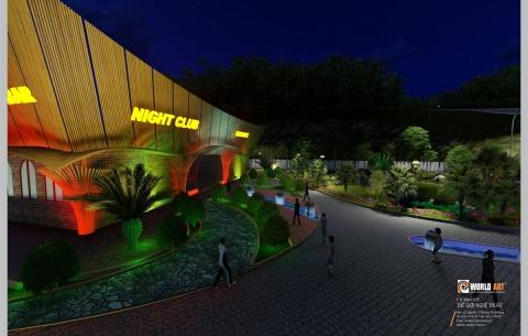2/ ISORA Night Club & Karaoke Nghi Sơn, TP. THANH HÓA / Cảnh quang bên ngoài công trình