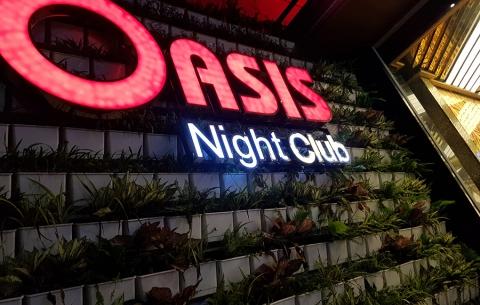 THI CÔNG VÀ THIẾT KẾ OASIS NIGHT CLUB