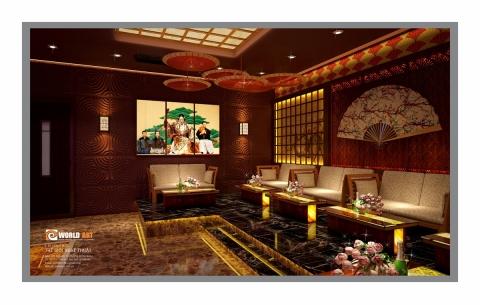 Thiết kế nội thất ISORA NIGHT CLUB & KARAOKE Nghi Sơn - Thanh Hóa