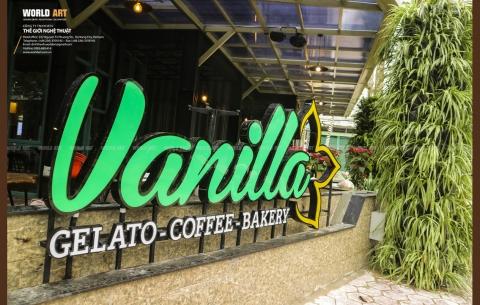 9/ VANILLA GALETO - COFFEE - BAKERY/ Thiết kế và thi công mặt tiền Vanilla Quảng Ngãi