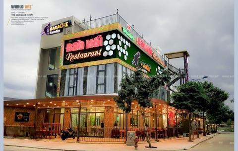 6/ Karaoke - Restaurant Đảo nổi/ Thiết kế và thi công nội - ngoại thất