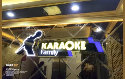4/ Karaoke Đảo nổi/ Thiết kế và thi công nội thất