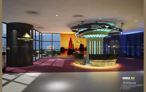 9/ SKY 36 - Nhà hàng Hai Cang/ Thiết kế và thi công Nội thất